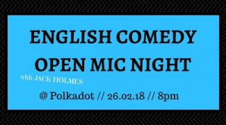 openmicenglish comedy