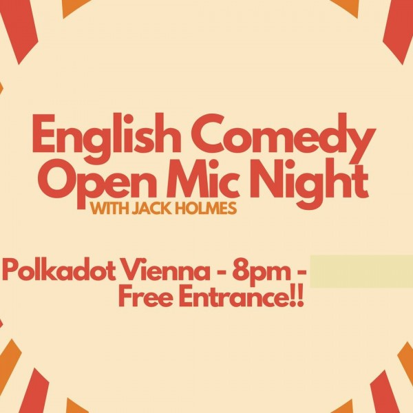 10.12.19 English Comedy Open Mic